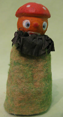 Antique German 1920s Halloween Pumpkin Head Figure
