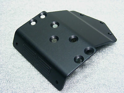 Team Associated 6002 RC10 World's Car 6309 BLACK Front Nose Plate Brand New RARE