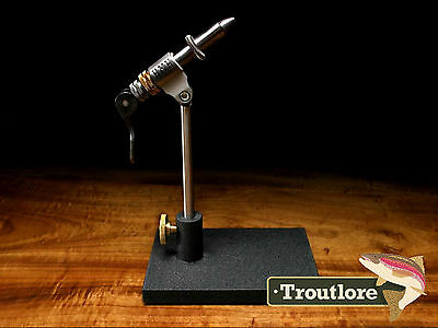 Hmh Spartan Vise Compact Pedestal Base Omni Jaws - Usa Made Fly Tying Tool New