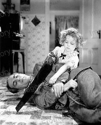 8x10 Print Shirley Temple Movie Scene ? #ST885