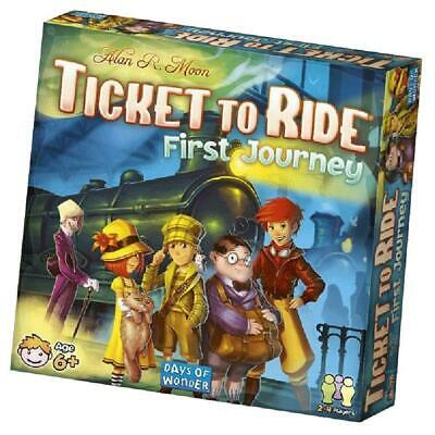 Ticket To Ride First Journey Version - Board Game