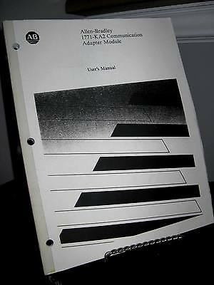 Allen Bradley 1771-KA2 Communications Adapter Module User's Manual PLC-2