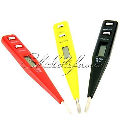 AC DC 12V-250V Digital Electrical Tester Pen Probe Voltage Inductance Detector