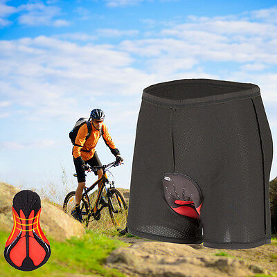 Men's Gel 3D Padded Bicycle Cycling Soft Underwear Bike Short Pants Comfortable