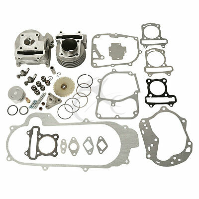 Scooter 50mm Big Bore Cylinder Kit For 139QMB & 1P39QMB Engines