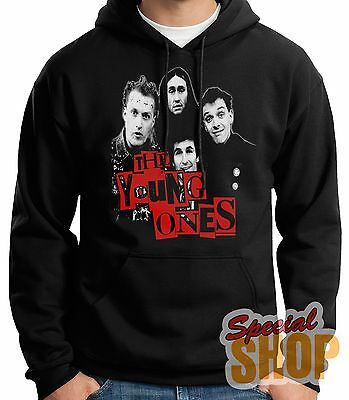 "SWEATSHIRT WITH HOOD ""THE YOUNG ONES-TV-OLD SCHOOL"" HOODIE SHIPPING 24/72 h"