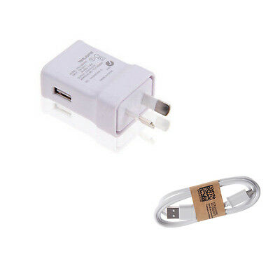 Fast Charger 2A AU Plug +Micro USB cable AC Wall adapter for samsung iPhone