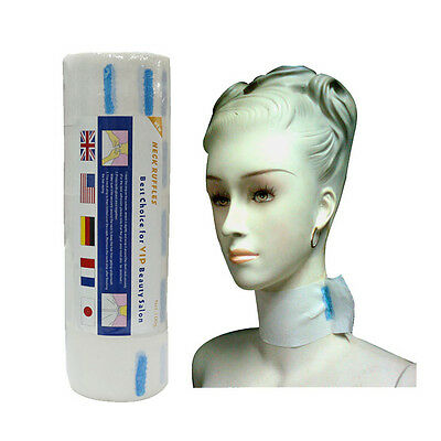 1Roll Extensive Stretchy Disposable Neck Paper Barber Salon Hairdressing Supply