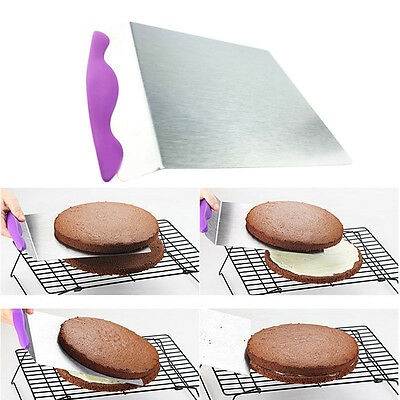 """Stainless Steel Square Cake Bread Cookies Transfer Lift Up To 12"""" Cake"""