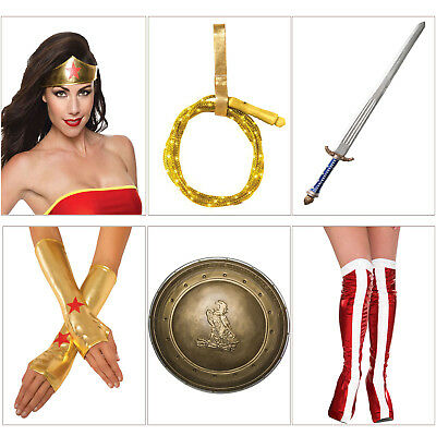 Rubies Official DC Comics Wonder Woman Batman V Superman Fancy Dress Accessories