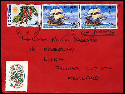 Bermuda 1978 Commercial Airmail Cover To UK #C37701