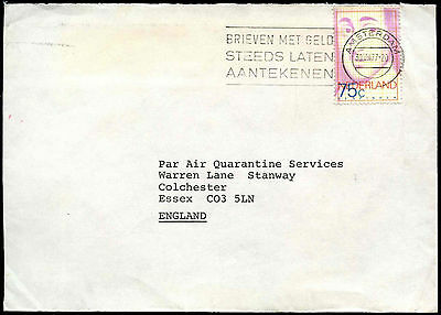 Netherlands 1977 Cover To UK #C37764