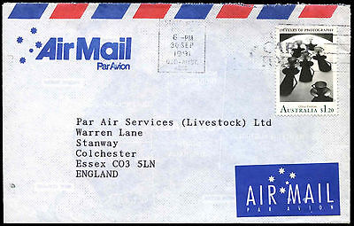 Australia 1991 Commercial Air Mail Cover To UK #C37598