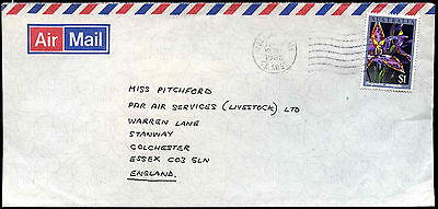 Australia 1986 Commercial Air Mail Cover To UK #C37601