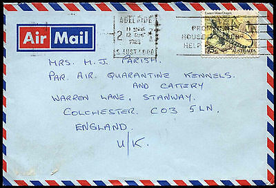 Australia 1983 Commercial Air Mail Cover To UK #C37604