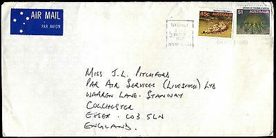 Australia 1987 Commercial Air Mail Cover To UK #C37621