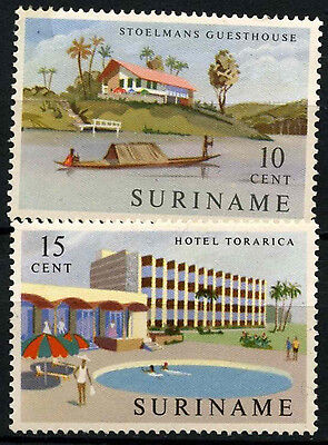 Suriname 1962 SG#510-1 New Hotels MNH Set #D34400
