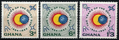 Ghana 1964 SG#332-4 Int. Quiet Sun Years MNH Set #D34573