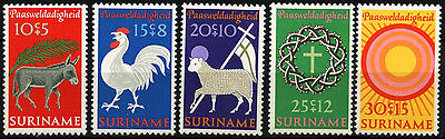 Suriname 1971 SG#692-6 Easter The Bible Story MNH Set #D34455