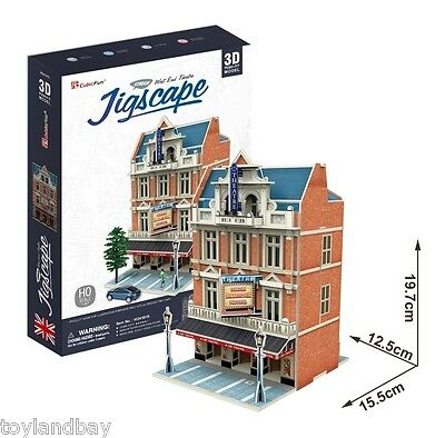 HO Scale Train Layout Building West End Theater New in Box