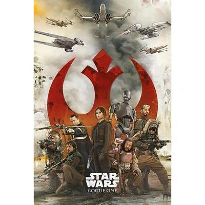 Official Licensed Product Star Wars Rogue One Poster Rebels Wall Gift New