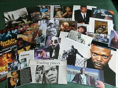 "Samuel L Jackson - Film Star - ""  Clippings /cuttings Pack "" -#6"