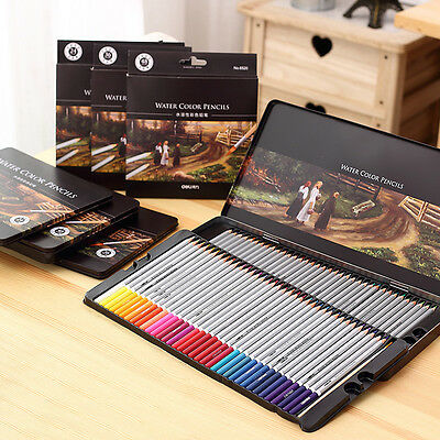 72 wooden colored pencils professional artist drawing set sketching
