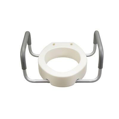 Drive Premium Toilet Set Riser with Removable Arms Elongated #12403