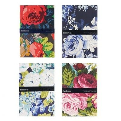Sanderson Floral Scented Pack of 5 Drawer Liners Heathcote & Ivory (1 Supplied)