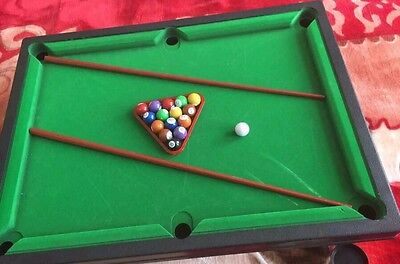 2 player Snooker and Pool Table Indoor Game Playing Set Snooker Kids Play Game