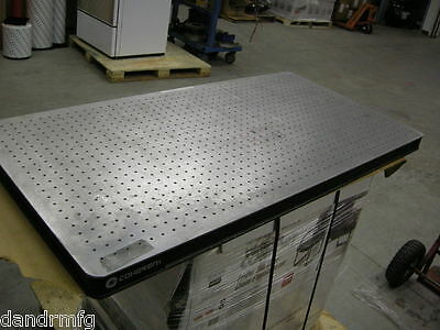 """COHERENT OPTICAL / BREADBOARD? TABLE 24"""" x 48"""" x 2"""" INDUSTRIAL LABORATORY LASER"""