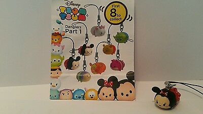 Disney Tsum Tsum Minnie Mouse figure, dangler, keychain, charms, Brand new