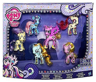 MY LITTLE PONY Friendship Blossom Collection 6 FIGURE TOYS R US Exclusive NEW!
