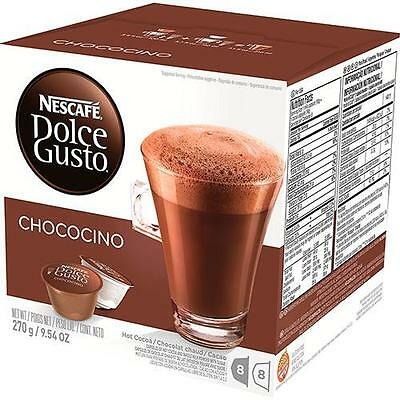 Box of 16 Capsules NESCAFE DOLCE GUSTO CHOCOCINO (98% Chocolate) Best price Ebay