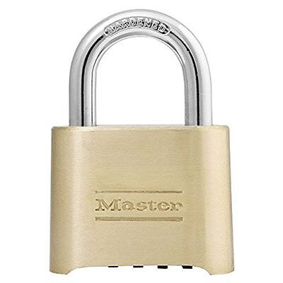 "Master Lock 175Lh Changeable Combination Padlock W/2-1/4"" Sh"