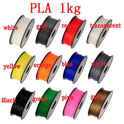MakerBot/RepRap/UP 27 colors Optional 3d printer filament PLA/ABS 1kg Material