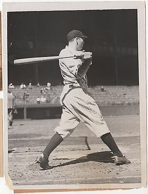 Bill Dickey vintage 1936 news photo New York Yankees baseball HOF photograph