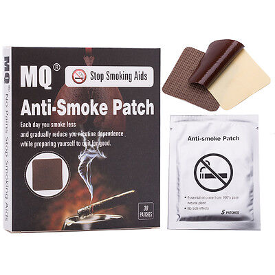 30 Patches Natural Herbal Stop Smoking Patch Nicotine Patches Quit Stop Smoking