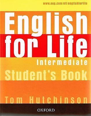 Oxford ENGLISH FOR LIFE Intermediate Student's book /Coursebook I Hutchinson NEW