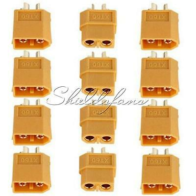 2/5/10Pairs XT60 Male&Female Bullet Connectors Plugs for RC Lipo Battery NEW