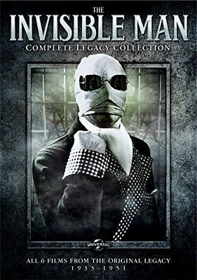The Invisible Man: Complete Legacy Collection [New DVD] Slipsleeve Packaging,