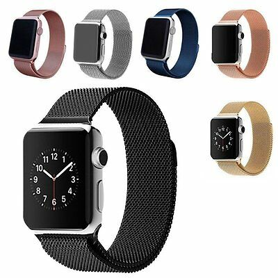 Loop Strap Stainless Steel Milanese Magnetic Watch Band For Apple IWatch 42/38mm