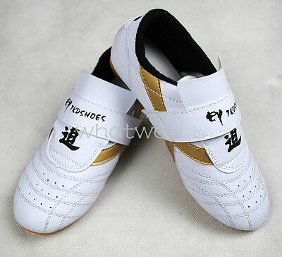 Adult Kids Tai Chi Kung Fu Shoes Taekwondo TKD Sneakers Kickboxing Footwear MMA