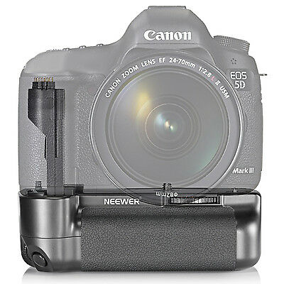Neewer Vertical Replacement Battery Grip for Canon 5D Mark III