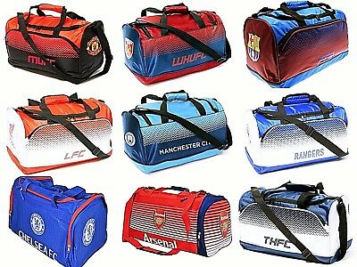Large School Football Sports Travel Shoulder Holdall Gym Kit Duffel Bag Xmas