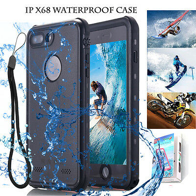 for Apple iPhone 7 8 Plus Waterproof Shock-Proof Dirt/Dust-Proof Hard Case Cover