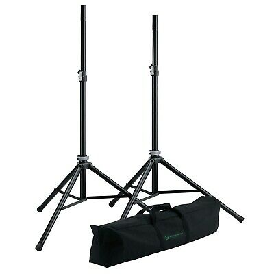 K & M Speaker Stand Package - Super Light Weight at 6kg all up - 5 Year W'ty