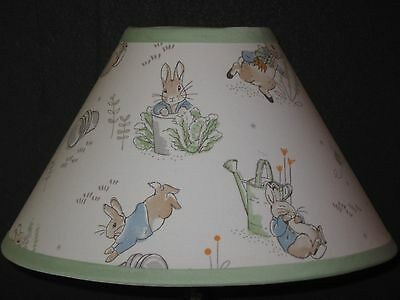 Beatrix Potter Peter Rabbit Fabric Nursery Lamp Shade M2M Pottery Barn Kids