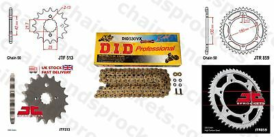 DID- Gold X Ring JT Sprocket Chain Kit fits Yamaha FZS600 Fazer 98-03