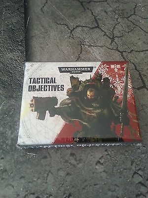 Warhammer 40K Tactical Objectives Cards